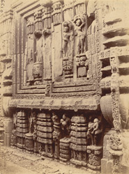 View of northern window from the north-west, Rajalinga Temple, Bhubaneshwar